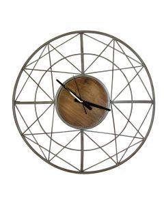 005198 AH Wooden Clock - stenska ura Tapetedekor