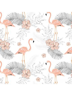 15-DD118582 Tropical Flamingo 2 Fototapeta flis 350×255 cm