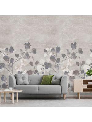 A41701 Concrete Flower Flis Fototapeta Tapetedekor