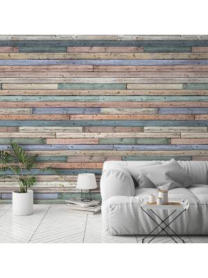 A42401 Coloured Wood Flis Fototapeta Tapetedekor