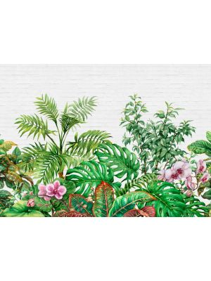 4-DD118530 Tropical Wall Fototapeta flis 350×255 cm