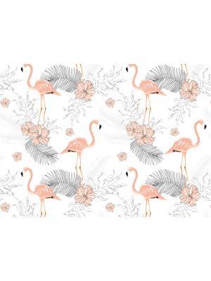 15-DD118582 Tropical Flamingo 2 Fototapeta flis 350×255 cm