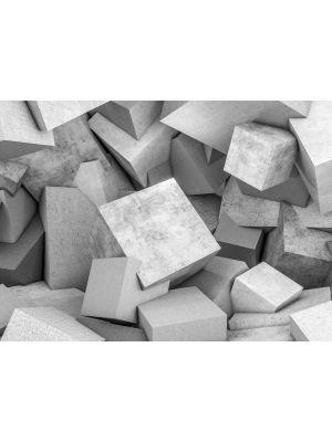 21-DD118734 Concrete Blocks Fototapeta flis 350×255 cm