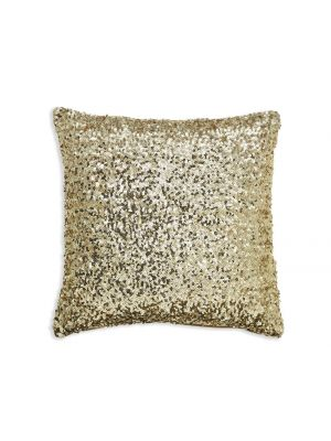 008330 Gold Sequin Cushion