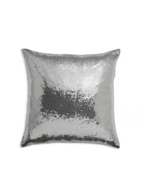008337 Silver Sequin Cushion