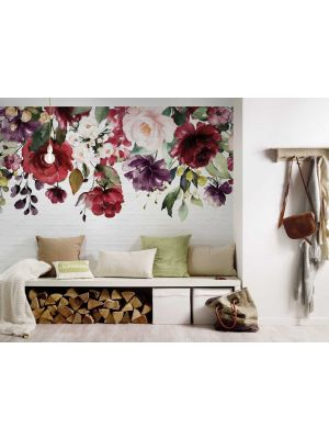 28-DD118528 Flora wall 2 Fototapeta flis 350×255 cm