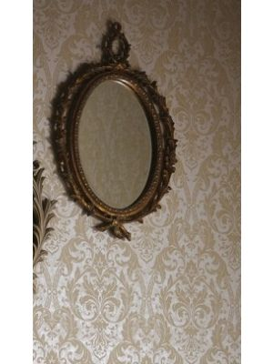 008272 Antique Oval Mirror