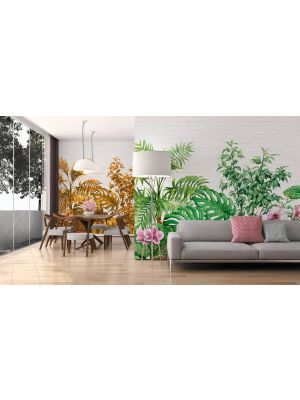 4-DD118530 Tropical Wall Fototapeta flis 350×255 cm