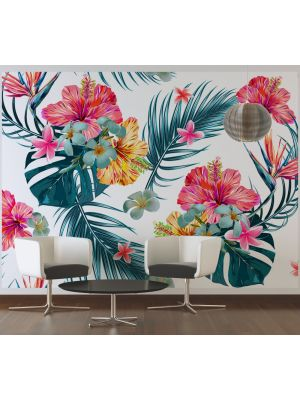 10-DD118568 Tropical art Fototapeta flis 350×255 cm