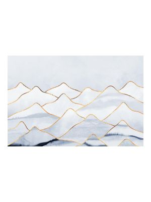 F-1160 Watercolor Mountains