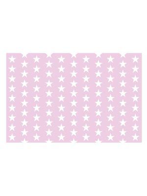 F-1188 Stars on pink b.